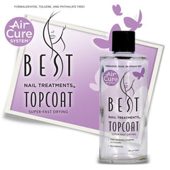 BEST NAIL TREATMENTS SUPER FAST DRYING TOPCOAT PRO KIT 4 OZ