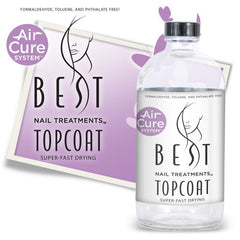 BEST NAIL TREATMENTS SUPER FAST DRYING TOPCOAT REFILL 16 OZ
