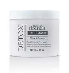 Body Drench Detox Black Charcoal Pore Refining Mask 4.0 Oz
