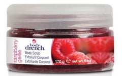 BODY DRENCH FRUITY TREATS RASPBERRY GELEE BODY SCRUB 6 OZ