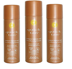BODY DRENCH QUICK TAN INSTANT BRONZING SPRAY-MEDIUM/DARK 3 PACK- 3 X 6 OZ