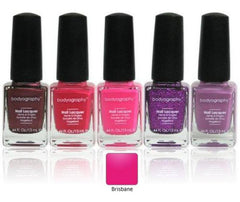BODYOGRAPHY NAIL POLISH BRISBANE-DARK ROSE