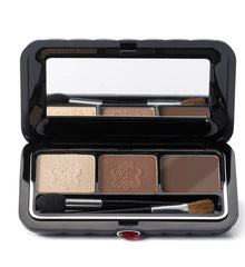 BORGHESE SATIN SHADOW MILANO DUO WITH EYELINER- BELLEZZA BROWN