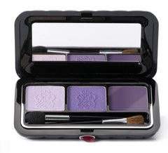BORGHESE SATIN SHADOW MILANO DUO WITH EYELINER- VENETIAN VIOLET
