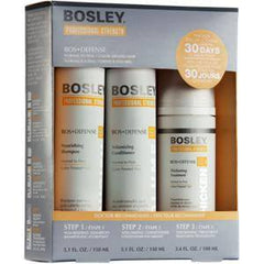 BOSLEY BOSDEFENSE TREATMENT KIT FOR COLOR TREATED HAIR 3 PC