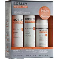 BOSLEY BOSREVIVE TREATMENT KIT FOR COLOR TREATED HAIR 3 PC