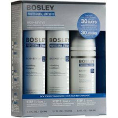 BOSLEY BOSREVIVE TREATMENT KIT FOR NON COLOR TREATED HAIR 3 PC