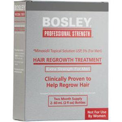 BOSLEY MEN`S RE-GROWTH TREATMENT 2 X 2 OZ