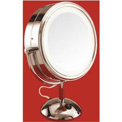BRANDON LIGHTED MIRROR 5X 8 IN. DIAMETER