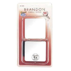BRANDON MIRROR 5X COMPACT TRAVEL 3 1/8 INCHES