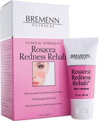BREMENN CLINICAL STRENGTH ROSACEA REDNESS REHAB 1 OZ.