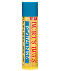 BURTS BEES BLUEBERRY AND CHOCOLATE REVITALIZING LIP BALM .15 OZ