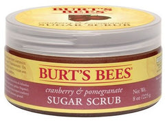 Burts Bees Cranberry And Pomegranate Sugar Scrub 8 Oz