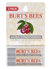Burts Bees Ultra Conditioning Lip Balm 2 Pack