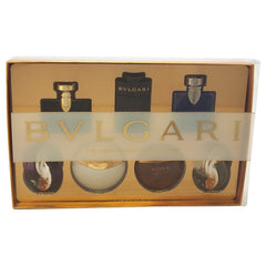 Bvlgari Iconic Minature Collection For Men And Women 7 Piece