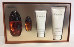 Calvin Klein Obsession Womens Gift Set 4 Piece