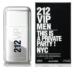 CAROLINA HERRERA 212 VIP MEN`S EAU DE TOILETTE SPRAY 1.7 OZ.