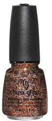 CHINA GLAZE NAIL POLISH #1134 GLITTER GOBLIN-WICKED COLLECTION (HALLOWEEN 2012)
