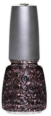 CHINA GLAZE NAIL POLISH #1183 RAZZLE ME DAZZLE ME .5 OZ- GLITZ COLLECTION
