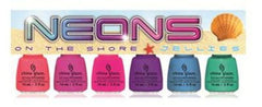 CHINA GLAZE NAIL POLISH SUNSATIONAL JELLIES 6 PIECE SET