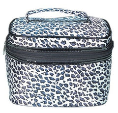 City Lights Cosmetic Tote Snow Leopard-Large