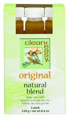 Clean And Easy Original Natural Blend Large Wax Refill 3 Pack