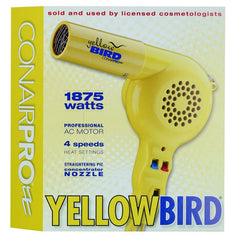 CONAIR HAIR DRYER YELLOWBIRD 1875 WATTS
