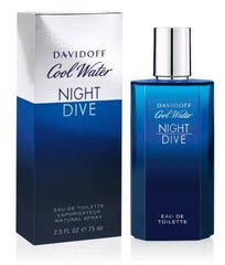 Cool Water Night Dive Men's Eau De Toilette Spray 2.5 Oz