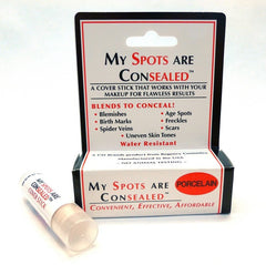 COSMETICALLY SEALED MY SPOTS ARE CONSEALED-PORCELAIN .15 OZ