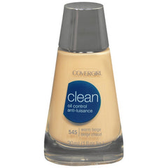 COVER GIRL CLEAN OIL CONTROL MAKEUP 545 WARM BEIGE 00405