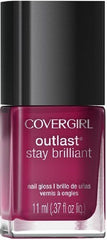 COVER GIRL OUTLAST STAY BRILLIANT NAIL POLISH 170 RELIABLE RED