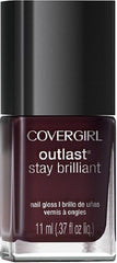 COVER GIRL OUTLAST STAY BRILLIANT NAIL POLISH 275 WINE STAIN