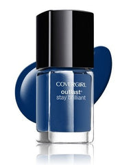 Cover Girl Outlast Stay Brilliant Nail Polish Sapphire Flare