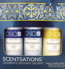 CREATIVE NAIL SCENTSATIONS HOLIDAY LOTION TRIO
