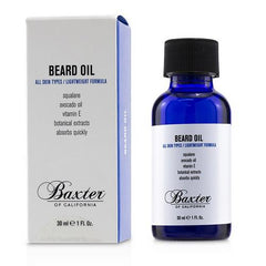 Baxter Of California Beard Oil 1 oz
