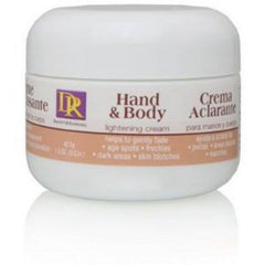 DAGGETT AND RAMSDELL HAND AND BODY LIGHTENING CREAM 1.5 OZZ