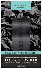 Danielle Black Charcoal Face + Body Bar 5.5 Oz