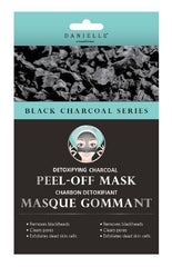 Danielle Detoxifying Charcoal Peel-Off Mask 4 Pk