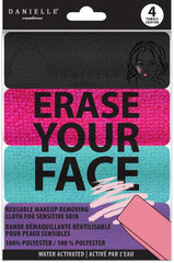 Danielle Erase Your Face Cleansing Cloth 4 Count