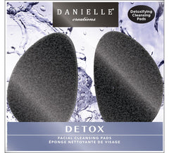 Danielle Infused Facial Cleansing Pad-Charcoal 2 Pk