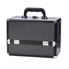 Danielle Make-Up Case-Black Crystal