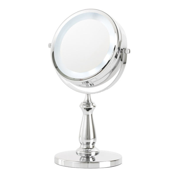 Danielle Chrome Led Vanity Mirror 5x Magnification D128