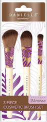 Danielle Palm Collection 3pc Brush Set
