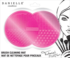 Danielle Tutorial Brush Cleansing Mat-Pink