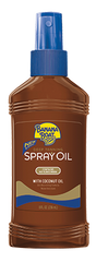 Banana Boat Dark Tan Oil