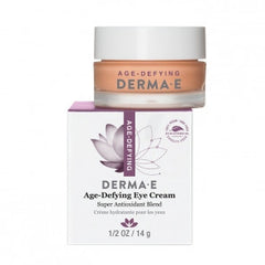 DERMA E AGE-DEFYING EYE CREME .5 OZ
