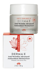DERMA E ANTI WRINKLE VITAMIN A  & GREEN TEA ADVANCED CREME 2 OZ