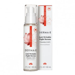Derma E Anti-Wrinkle Vitamin A Night Serum 2 Oz
