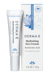 DERMA E HYDRATING EYE CREME WITH HYALURNOIC ACID AND PYCNOGENOL .5 OZ
