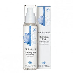 DERMA E HYDRATING MIST WITH HYALURONIC ACID 2 OZ